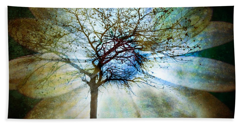 Trees Beach Towel featuring the photograph The Truth Of Trees by Tara Turner