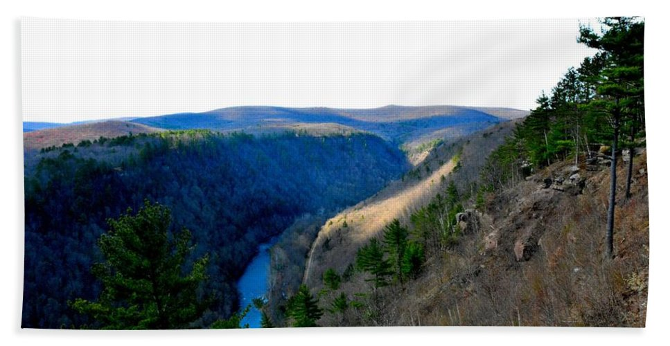 Landscape Beach Towel featuring the photograph The Vast Pa Grand Canyon by Jennifer Wick