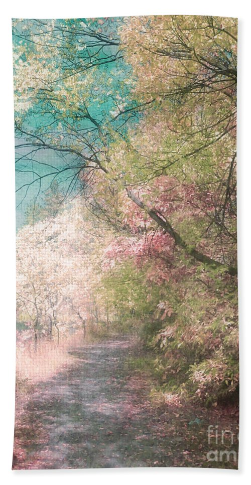 Pastel Beach Towel featuring the photograph The Walkway Of Forgotten Dreams by Tara Turner