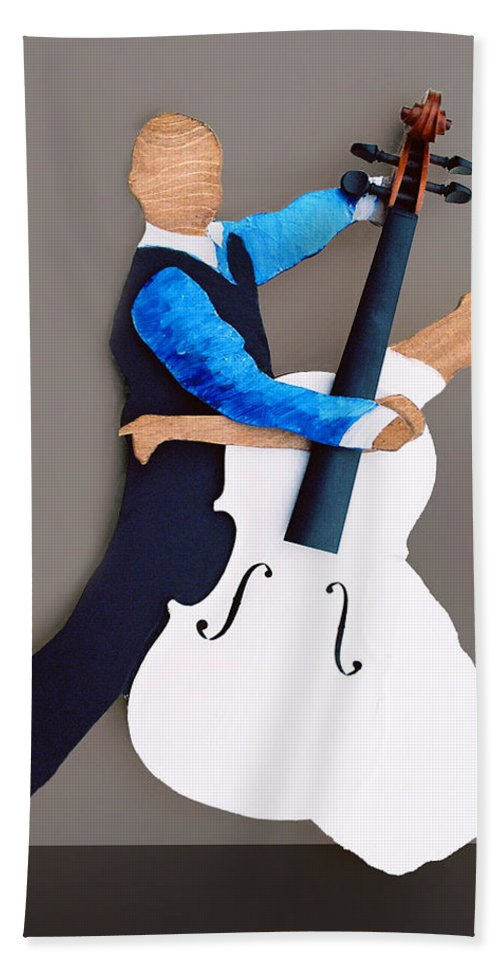 Dance Beach Towel featuring the sculpture The Waltz by Steve Karol