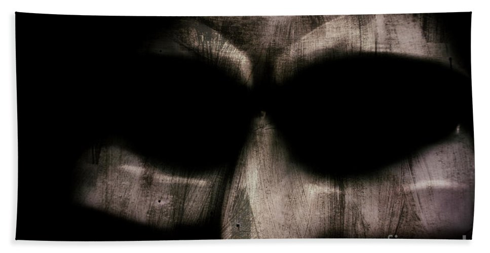 Madman Beach Towel featuring the photograph They Have No Soul by Jorgo Photography - Wall Art Gallery