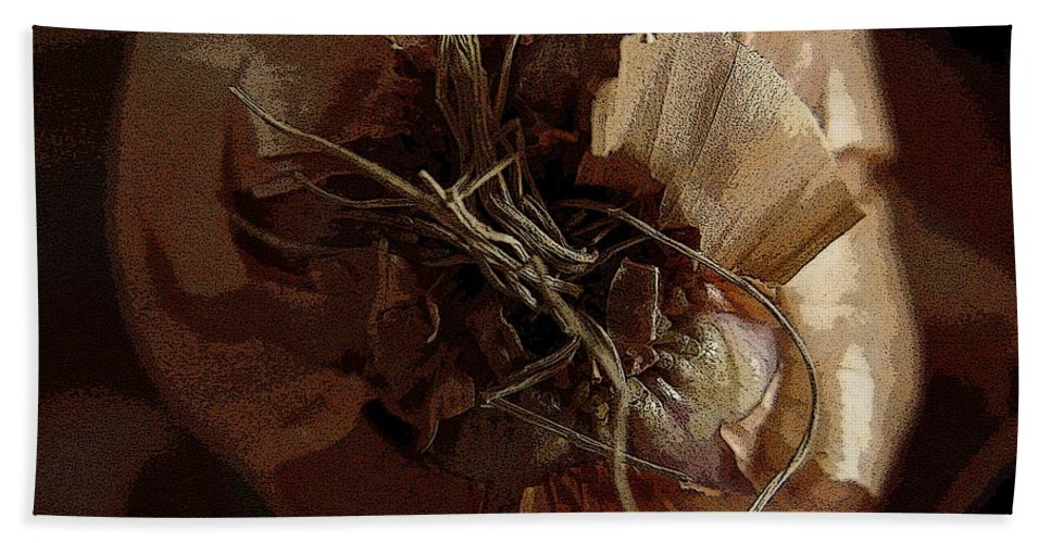 Digital Image Beach Towel featuring the photograph Thin Skin by Ron Bissett
