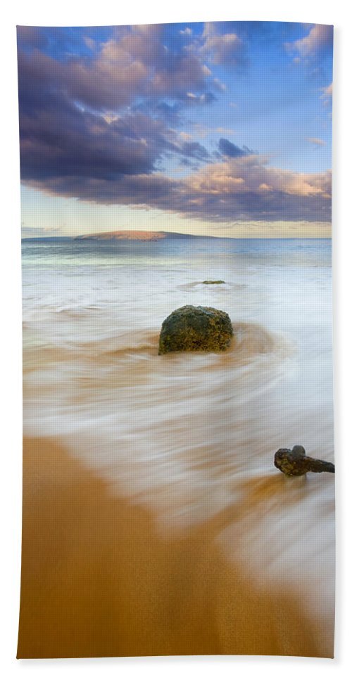 Maui Beach Sheet featuring the photograph Tied To The Past by Mike Dawson