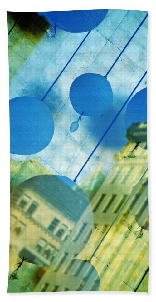 New York Beach Towel featuring the photograph Tiffanys by Skip Hunt