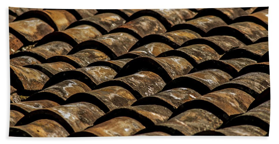 Tile Roof Beach Towel featuring the photograph Tile Roof 2 by Totto Ponce