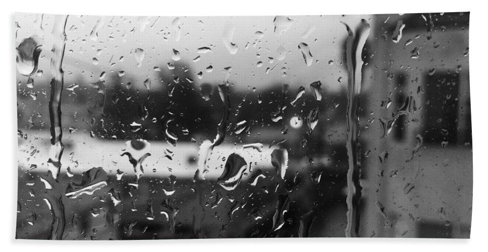 Rain Beach Towel featuring the photograph Time Away by Daniel Frey
