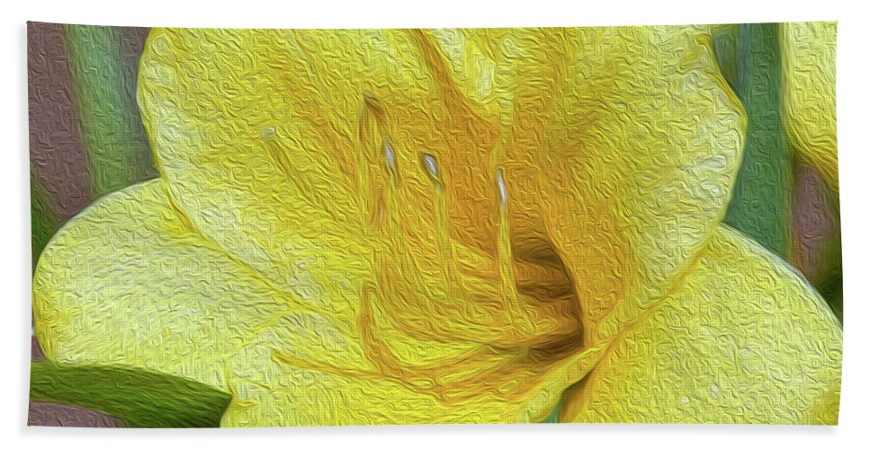 Floral Beach Towel featuring the photograph Tomorrow Is Today's Dream by Tracie Fernandez