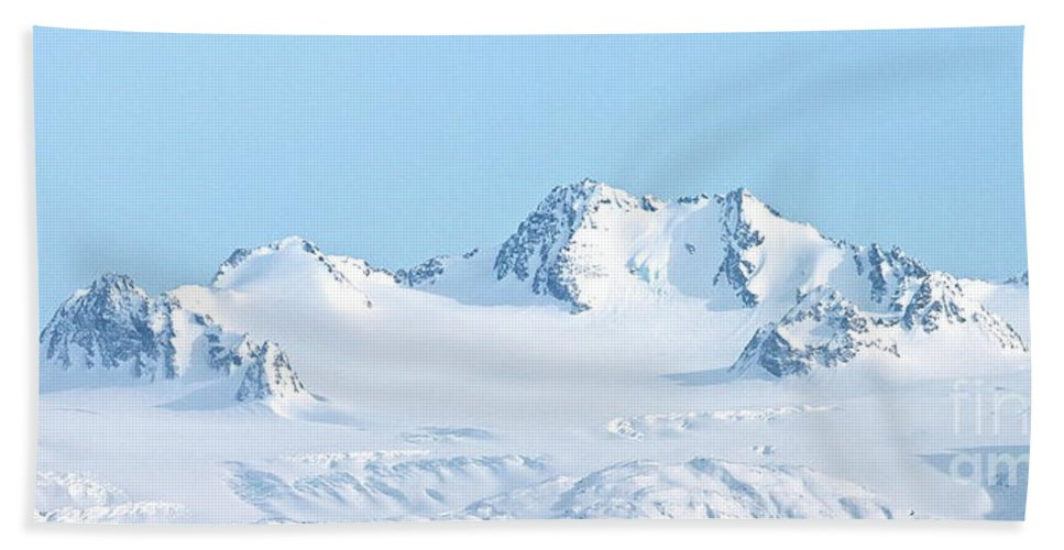 Mountain Beach Towel featuring the photograph Top View by Rick Monyahan