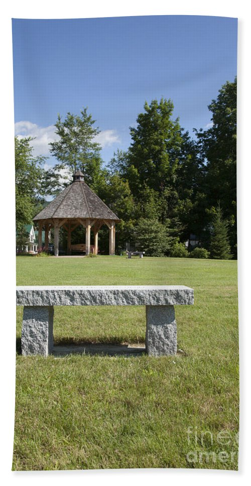 New Hampshire Beach Towel featuring the photograph Town Park In Bartlett New Hampshire Usa by Erin Paul Donovan
