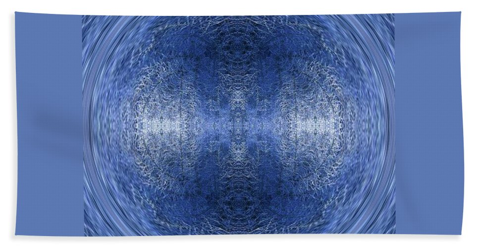 Fractal Image Beach Towel featuring the photograph Tranquility by Amber Stubbs