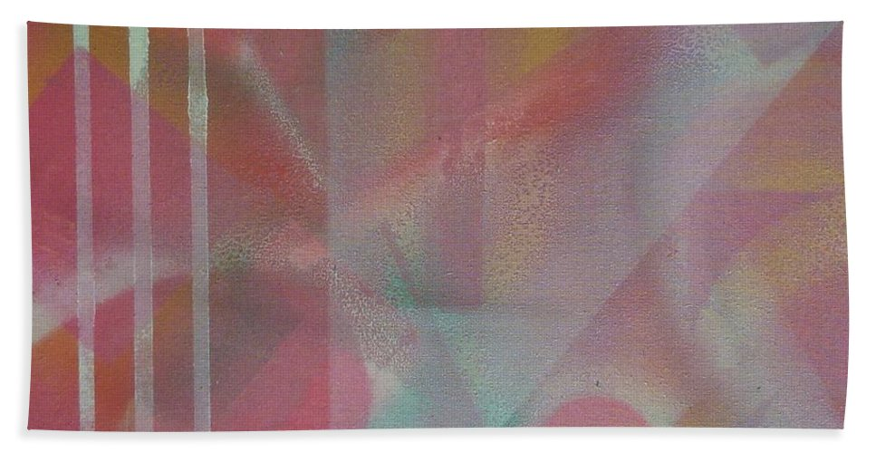 Abstract Beach Towel featuring the photograph Transition 2 by Richard Cooper