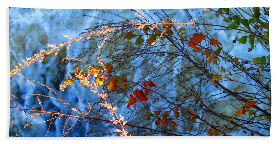 Water Beach Towel featuring the photograph Life Currents by Sybil Staples