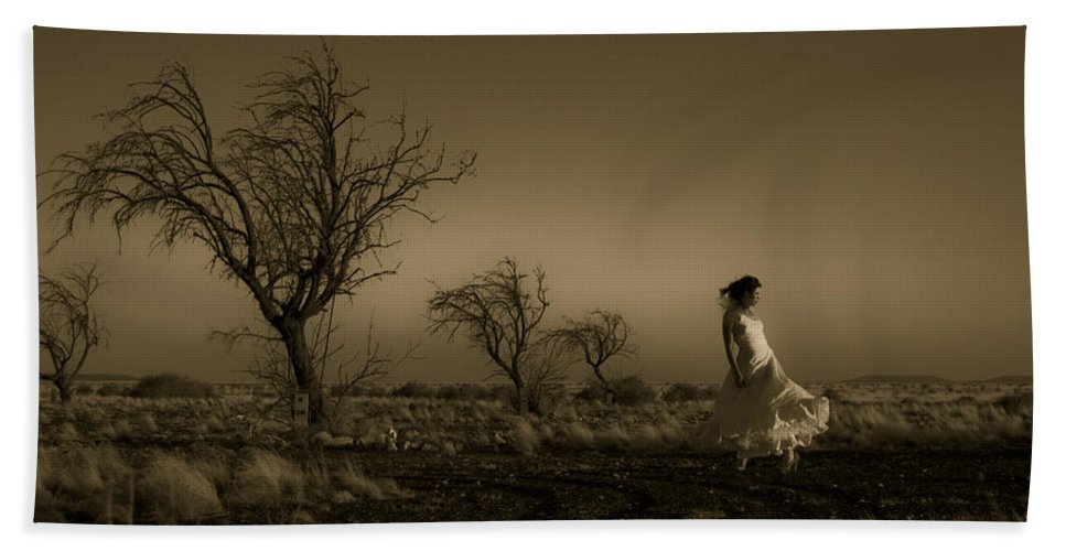 Woman Beach Towel featuring the photograph Tree Harmony by Scott Sawyer