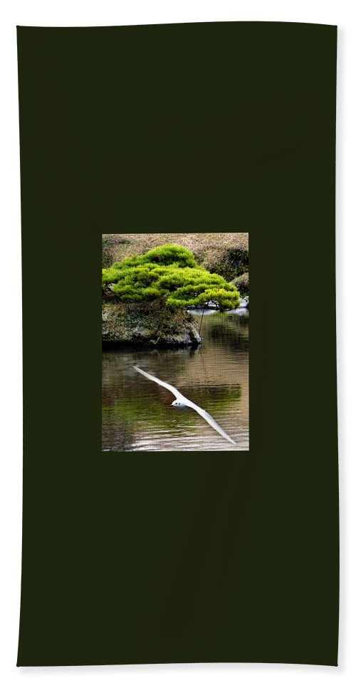 Trees Beach Towel featuring the photograph Trees In Japan 14 by George Cabig