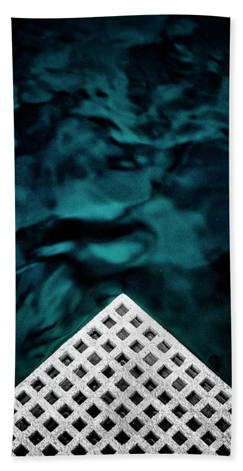 Abstract Beach Towel featuring the photograph Triangular Abstract by Russ Dixon