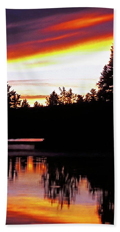 Landscape Beach Towel featuring the photograph Tripping II by Steve Harrington