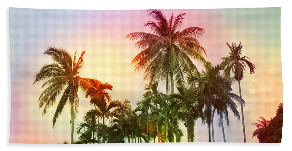 Tropical Beach Towel featuring the photograph Tropical 11 by Mark Ashkenazi