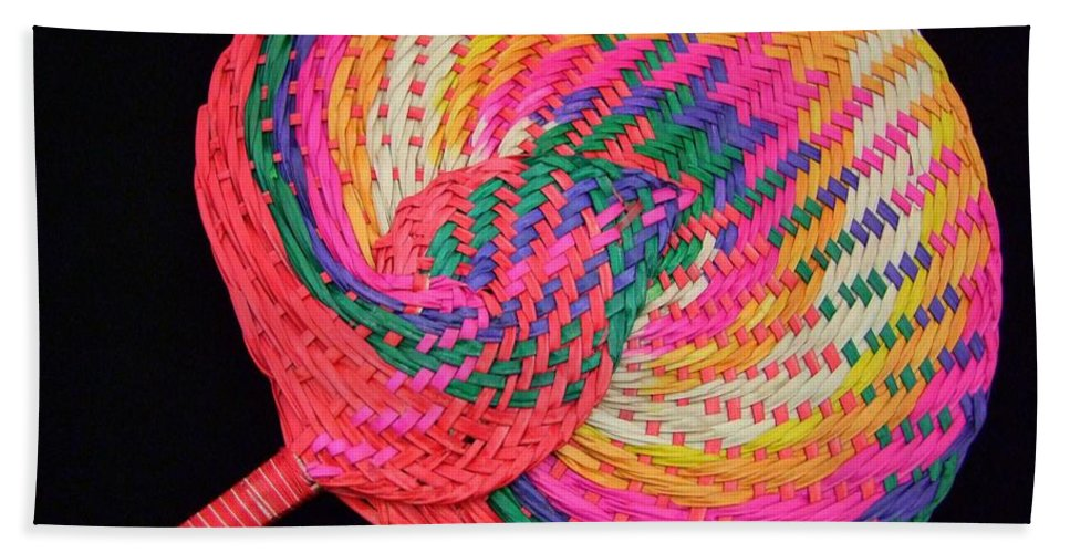 Mary Deal Beach Towel featuring the photograph Tropical Air Conditioner by Mary Deal