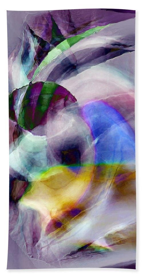 Digital Art Beach Towel featuring the digital art Tropical Fish by Linda Sannuti