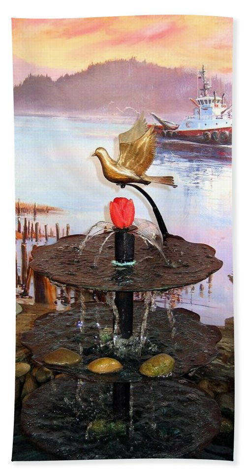 Agriculture Beach Towel featuring the photograph Tulip Town 20 by Will Borden