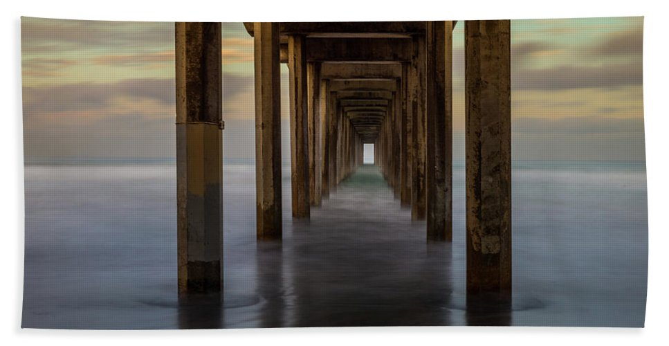 California Beach Sheet featuring the photograph Tunnelscape by TM Schultze