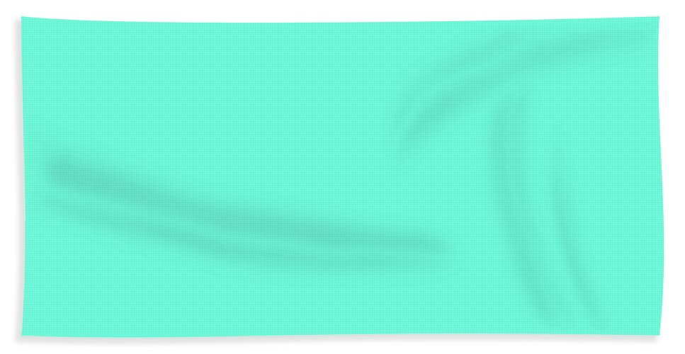 Turquoise Beach Towel featuring the digital art Turquoise by Susan Link