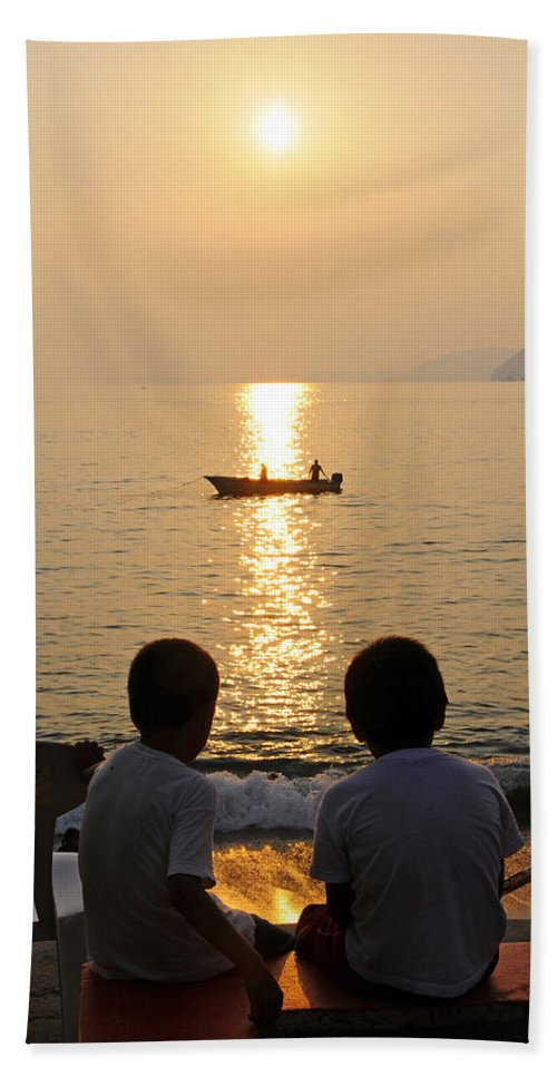 Skip Hunt Beach Towel featuring the photograph Twofer by Skip Hunt