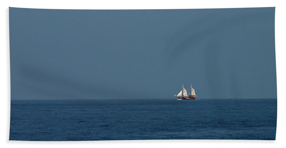 Valasretki Beach Towel featuring the photograph Under The Spanish Flag by Jouko Lehto