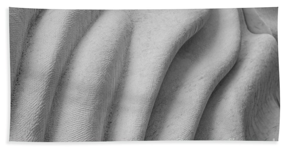 Marble Beach Towel featuring the photograph Unfolding And Enfolding - Iv by Marilyn Cornwell