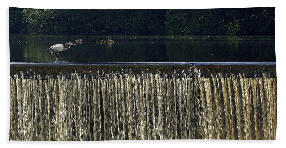 2d Beach Towel featuring the photograph Unicorn Lake by Brian Wallace