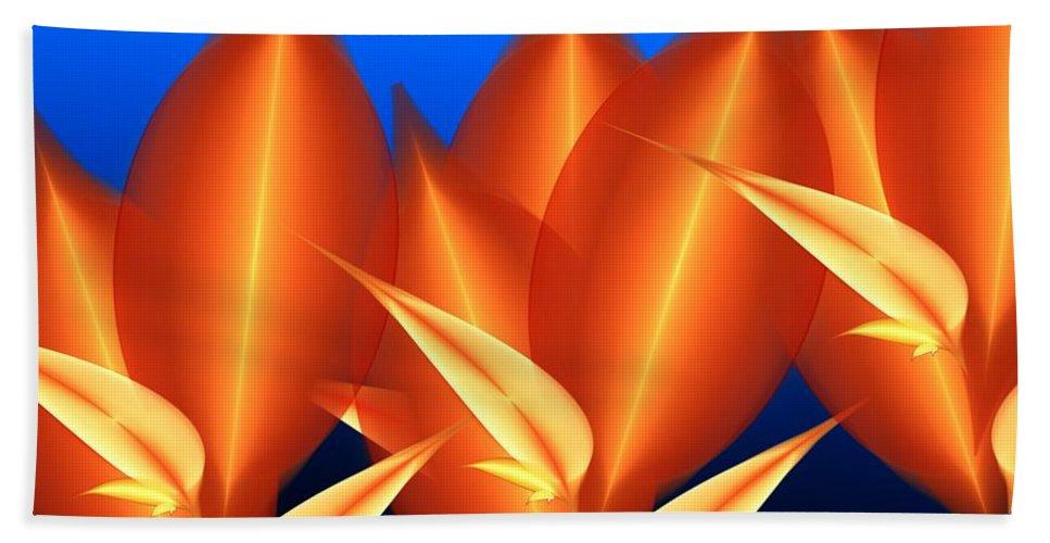 Digital Painting Beach Towel featuring the digital art Untitled 01-15-10-c by David Lane