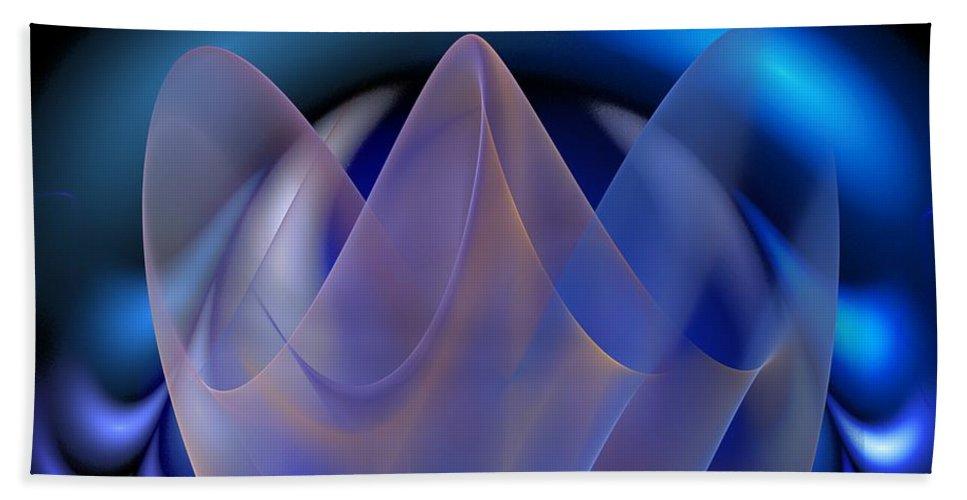 Digital Painting Beach Towel featuring the digital art Untitled 01-15-10-d by David Lane