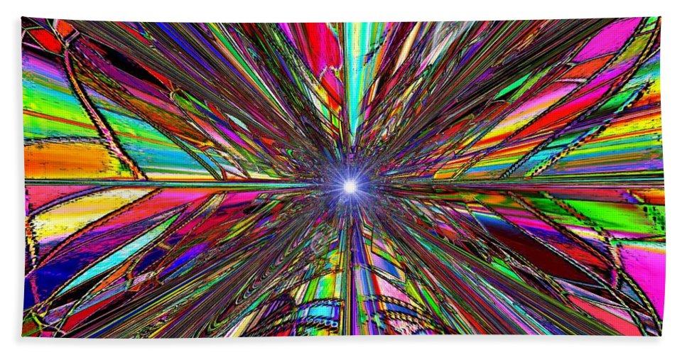 Up Beach Towel featuring the digital art Up by Tim Allen