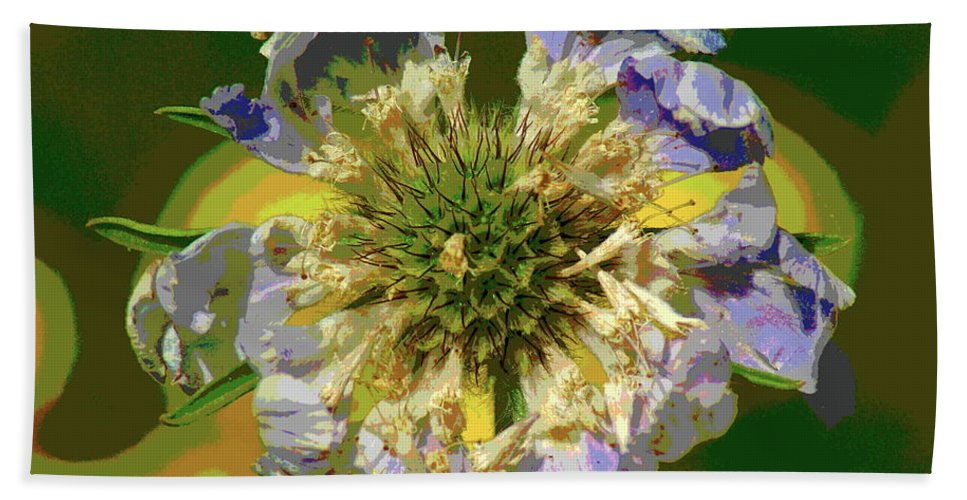 Flowers Beach Towel featuring the photograph Urgent Colors by Ben Upham III