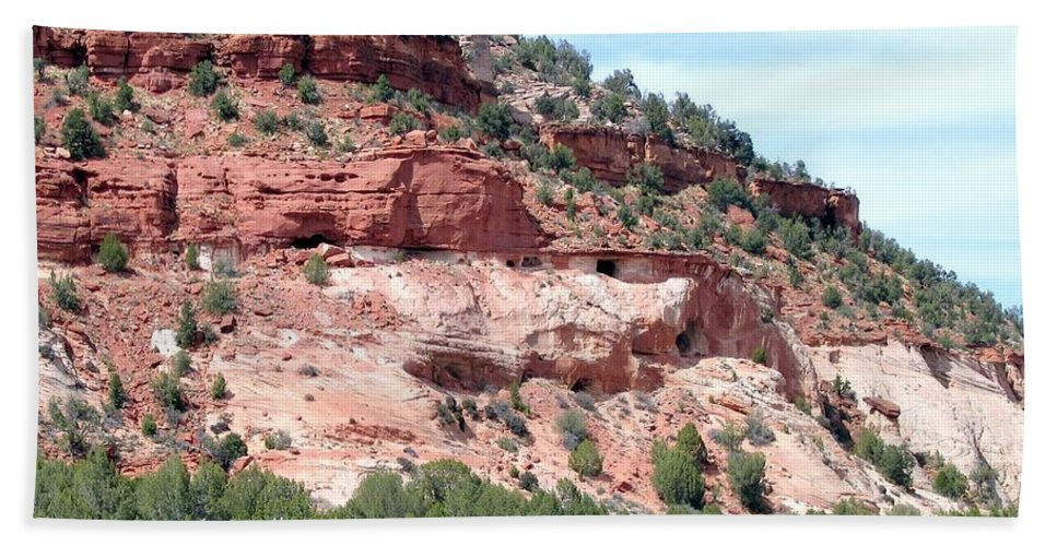 Utah Beach Towel featuring the photograph Utah 9 by Will Borden