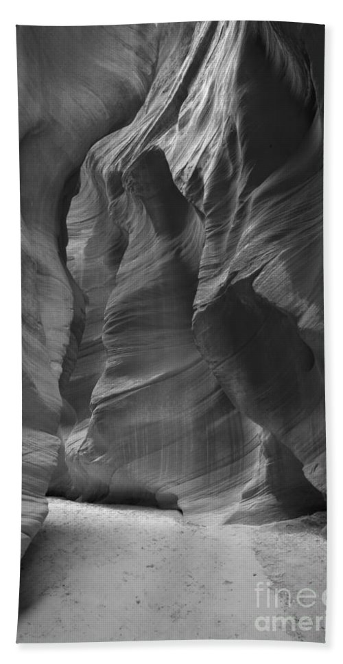Slot Canyon Beach Towel featuring the photograph Utah Sculpture by Adam Jewell