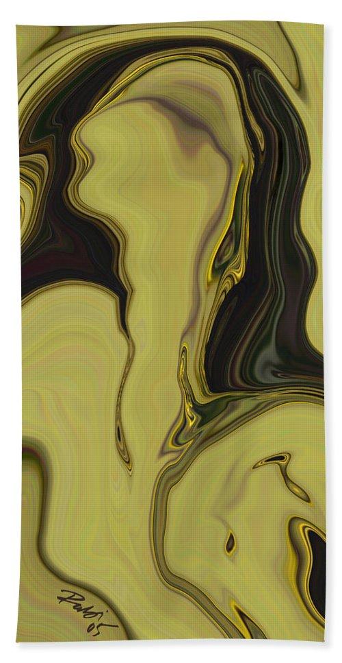 Art Beach Towel featuring the digital art Venus by Rabi Khan