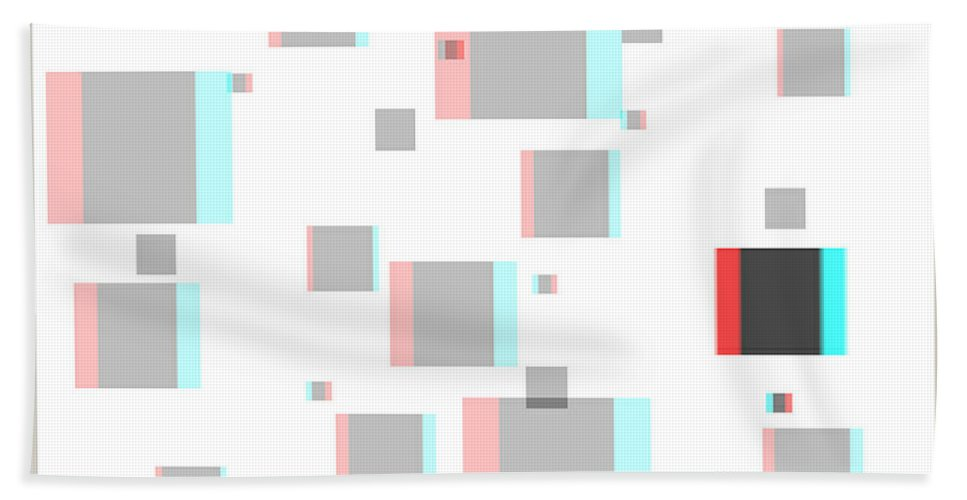 3d Beach Towel featuring the photograph Vexer 1 - Use Red-cyan 3d Glasses by Brian Wallace