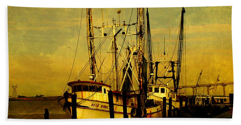 Rosa Marie Beach Towel featuring the photograph Waiting For Tomorrow by Susanne Van Hulst