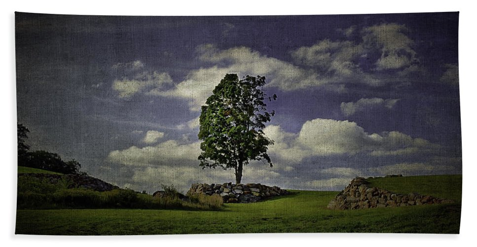 Cloud Beach Towel featuring the photograph Wake Me Up When September Ends by Evelina Kremsdorf