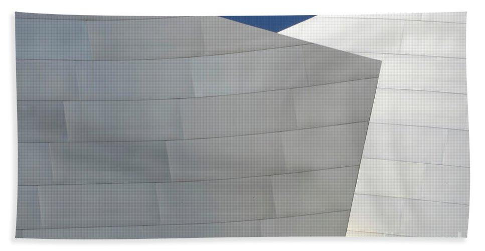 Disney Beach Towel featuring the photograph Walt Disney Concert Hall 20 by Bob Christopher