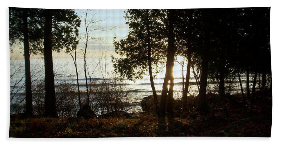 Washington Island Beach Towel featuring the photograph Washington Island Morning 3 by Anita Burgermeister