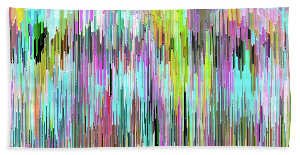 Water Beach Towel featuring the digital art Watershed by Ann Johndro-Collins