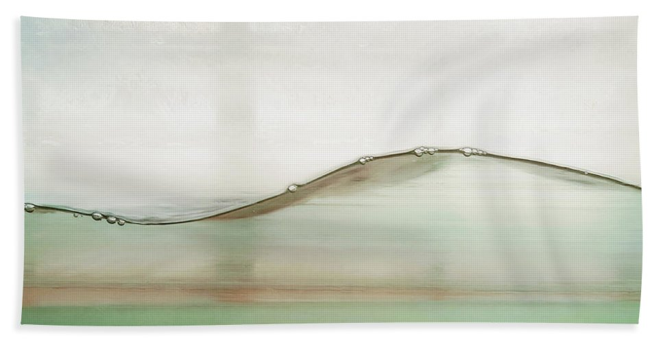 Water Beach Towel featuring the photograph Wave by Scott Norris