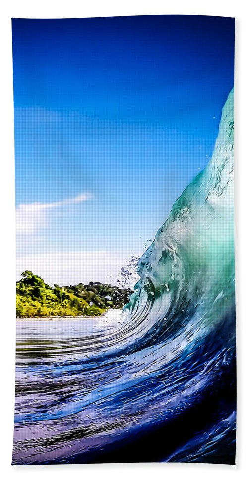 Wave Beach Towel featuring the photograph Wave Wall by Nicklas Gustafsson