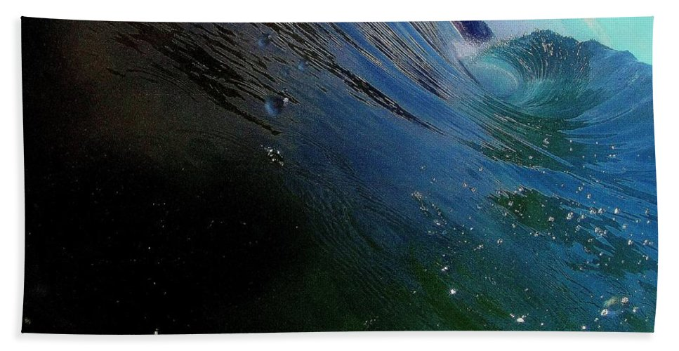 Beach Towel featuring the photograph Waves by Armin Smit