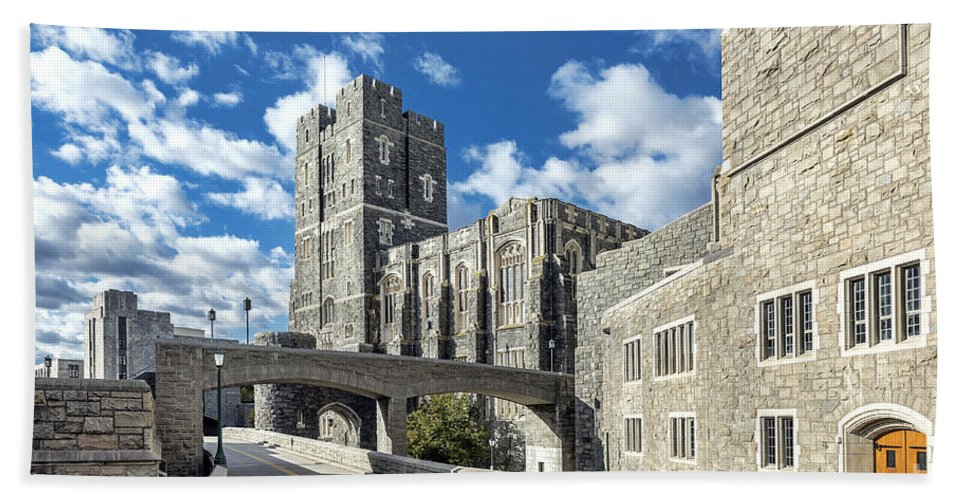 American Beach Towel featuring the photograph West Point Military Academy by John Greim