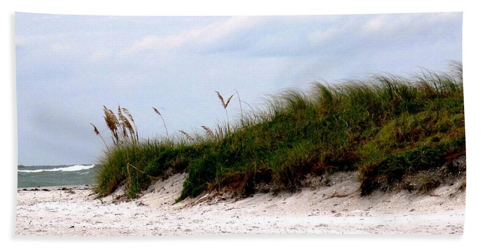 Florida Beach Towel featuring the photograph Where The Sea Wind Blows by Ian MacDonald