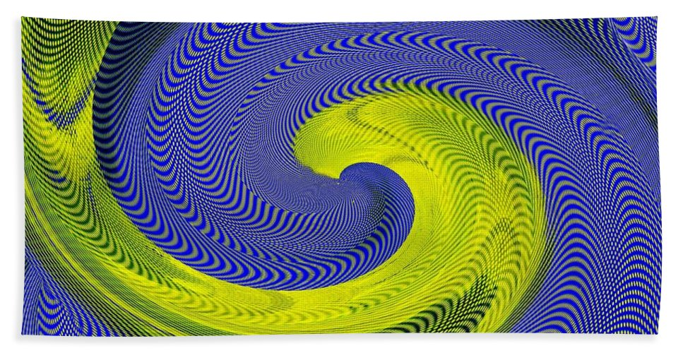 Whirlpool Beach Towel featuring the photograph Whirlpool 4 by Tim Allen