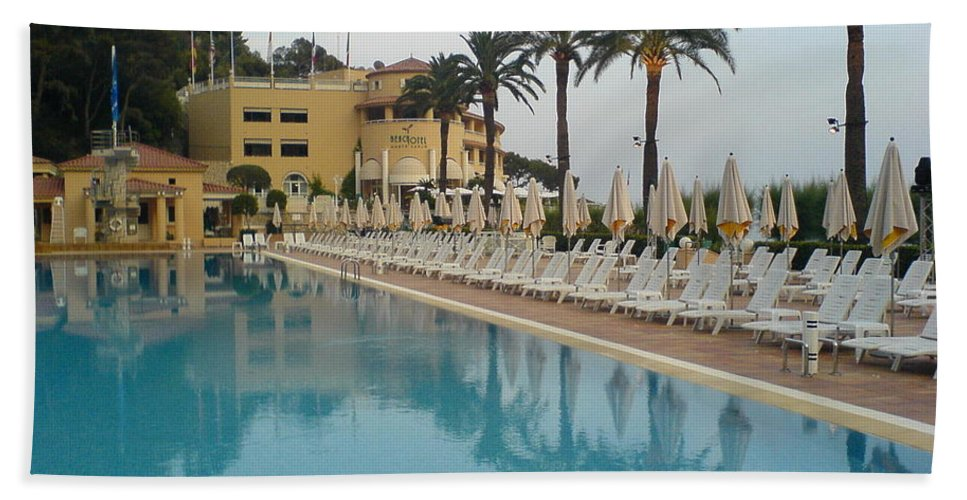 Pool Beach Towel featuring the photograph White Night by Are Lund